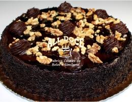 Bolo de Chocolate c Nozes21