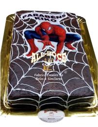 Bolo Aniversario Spiderman1