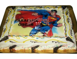 Bolo Aniversario Superman1