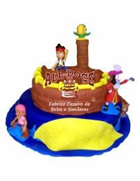 Bolo Aniversario Jack Piratas1